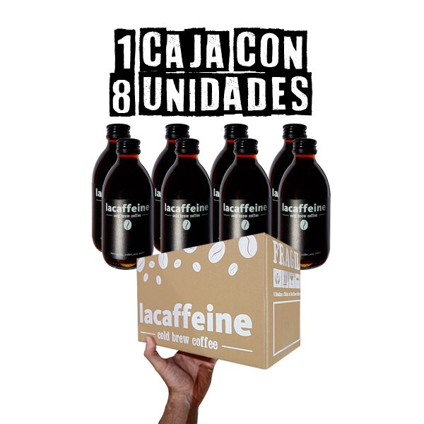 Caja Cold Brew Coffee 250ml x 8u LaCaffeine